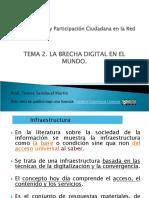 Comunicación y participación ciudadana  en la red Tema 2
