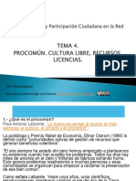 Comunicación y participación ciudadana en la red. Tema 4