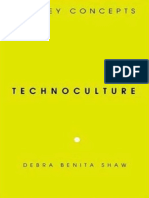 SHAW - Technoculture the Key Concepts