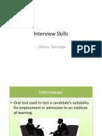 Interview Skill Vishnu