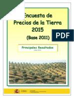 Encuesta Precios Tierra 2015 Tcm7-432436