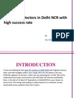 Ela Woman Recommends 12 IVF Doctors in Delhi NCR