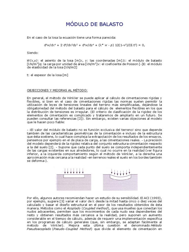 Módulo De Balasto Docx