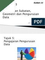 MTES3093 T5K14 Pengurusan Data