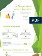 Efeitos Da Temperatura Sobre o Concreto FINAL