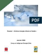 Actions énergie-climat en Suède - Janvier 2009