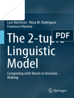 The 2 Tuple Linguistic Model