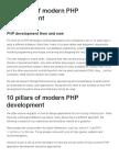 10 Pillars of Modern PHP Development _ Fortrabbit Blog