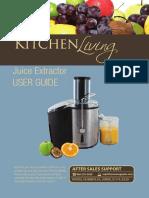 1.8.14 Kitchen Living Juice Extractor Warranty Manual