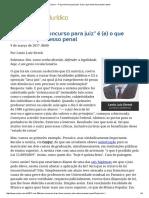 Lênio - ConJur - _Faça Concurso Para Juiz_ é (e) o Que Restou Do Processo Penal