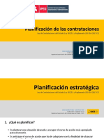 Planificación de las contrataciones