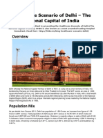 Healthcare Scenario of Delhi | Hospaccx Hospital Business Consultant