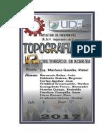 Caratula y Portada Topografia 2