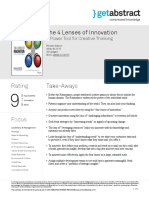 The 4 Lenses of Innovation Gibson en 24310