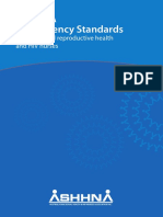 ASHHNA Competency Standards for Sexual and Reproductive Health and HIV Nurses
