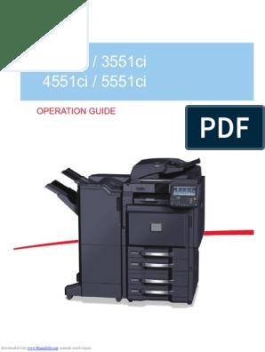 taskalfa_3551ci pdf | Usb Flash Drive | Portable Document Format