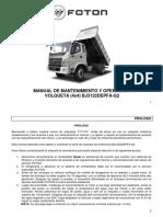 Manual Volqueta 4x4 0