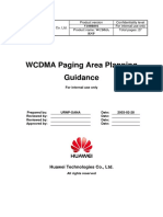 174408455 WCDMA RNP Paging Area Planning Guidance