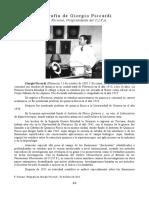 Biografía de Giorgio Piccardi Piero Faraone, Vicepresidente del C.I.F.A. (En Español)