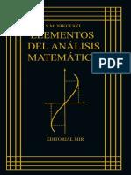 Elementos de Análisis Matemático (Nikolski SM) LIBRO