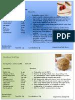 recipes - health desserts