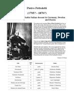 Pietro Pettoletti Bio & Works