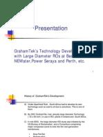 Presentation to Sheik Ebrahim on GrahamTek Technology