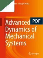 Cheli ~ Advanced Dynamics of Mechanical Systems