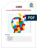 Cars Childhood Autism Rating Scale