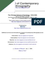 The Chicago School of Sociology - Ruth Cavan