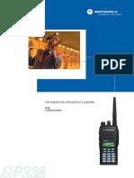 Motorola Gp338 Users Manual 272276