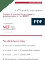 Ws 10-27-2014 Simone Musa Tendencias Da Tributacao Internacional