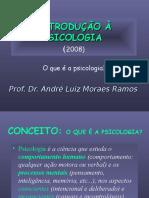Introdução à Psicologia - Ppt