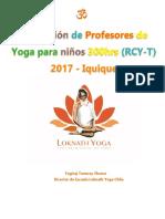 Programa Yoga Para Niños 2017 IQUIQUE