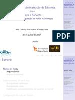 Aula3 - Intro. Adm. de Sistemas Linux - Módulo 2