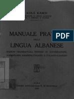 Dizionario Albanese - Italiano