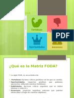 MATRIZ FODA 2° Clase 2017