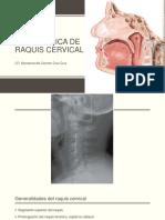 Tema 1.3 .1 Biomecánica Raquis Cervical