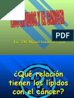 LIPIDOS Y CANCER