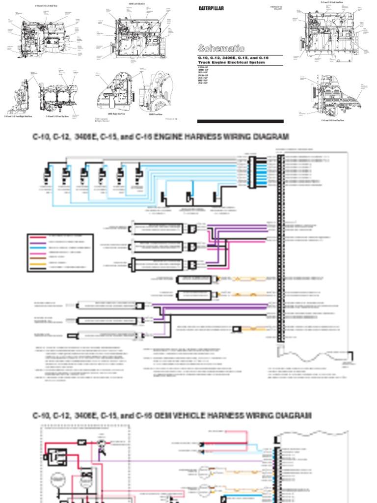 Cat C15 Serpentine Belt Diagram Also John Deere 3020 Wiring Diagram