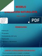 Modelo Evaluación Naturalista