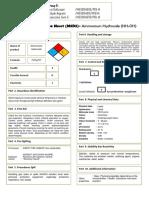 MSDS Ammonium Hydroxide.pdf
