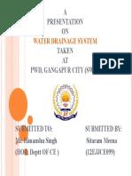 Water Drainage System.sitaram Mena