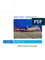 Training and Development Within British Airways