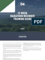 Trainingguide Marathon Beginner12 Week