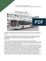 Compañía de Autobuses Werner Quiere Mejorar--06. Diciembre 2012