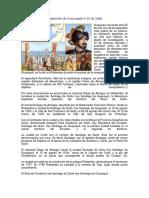 Fundación de Guayaquil El 25 de Juli2