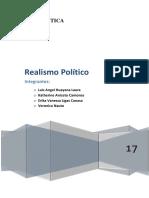 REALISMO-POLÍTICO