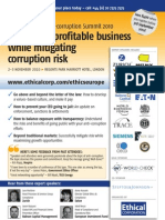 The European Anti-Corruption Summit 2010