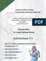 Program Penyuluhan Preeklampsia